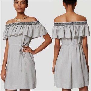 LOFT off-the-shoulder dress, new